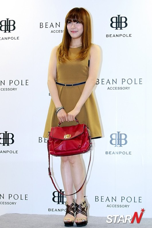 snsd tiffany bean pole fan sign event (31)