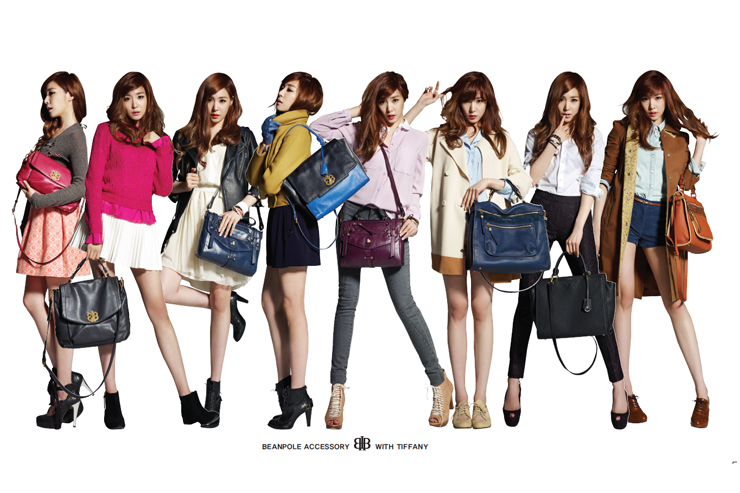SNSDu2019s Tiffany Pictures for BeanPole u2013 u2654 a Queen of Dreamer